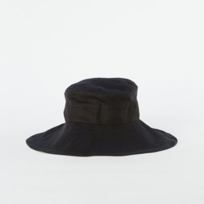 Wide Brim Linen Hat