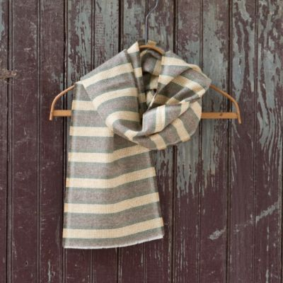 North Woods Scarf, Wide Stripe