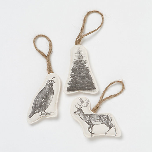 Fabric Engraving Ornaments
