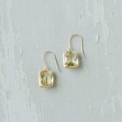 Citrine & Gold Earrings