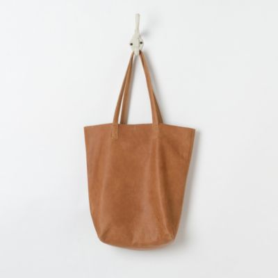 Market Day Leather Tote