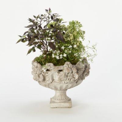 Perennial Blooms Urn, Small