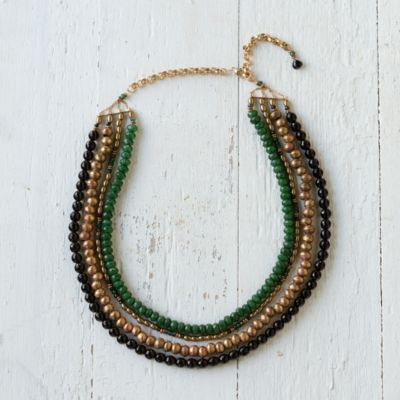 Onyx Strata Necklace