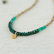 Diamond & Emerald Necklace