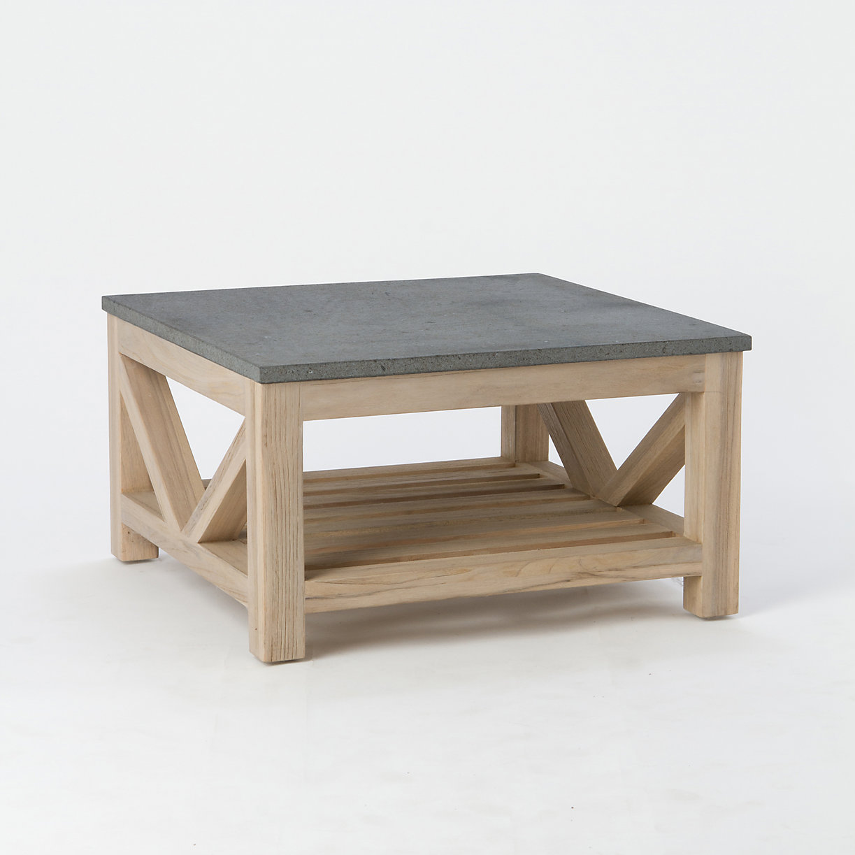 Product offer badge Stone & Teak Coffee Table ... - Outdoor Teak Furniture Terrain