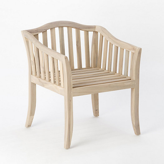 Protected Teak Garden Chair