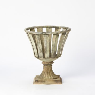 Iron Stripe Urn