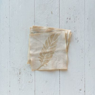 Falling Feather Cocktail Napkins