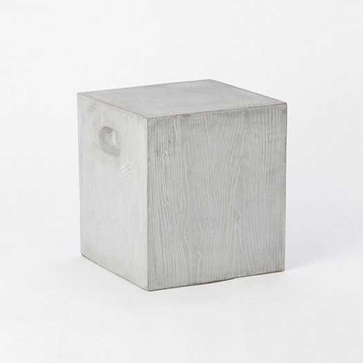 Woodgrain Garden Stool