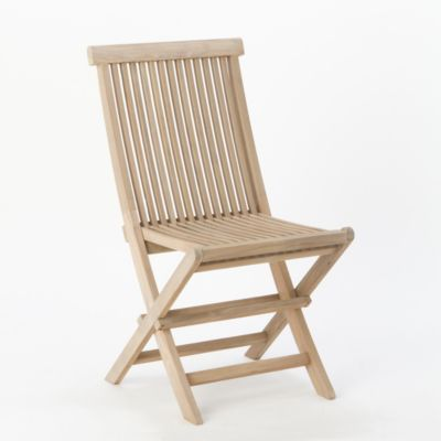 Preserved Teak Folding Chair