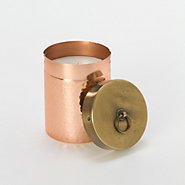 Hammered Copper Candle, Ambrosia