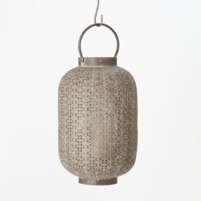 Iron Filigree Lantern