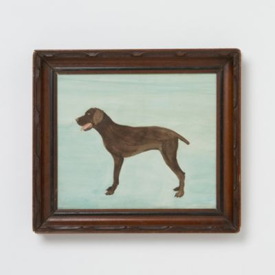 Mary Maguire Chocolate Lab Watercolor