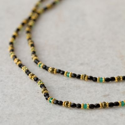Pyrite Loop Necklace
