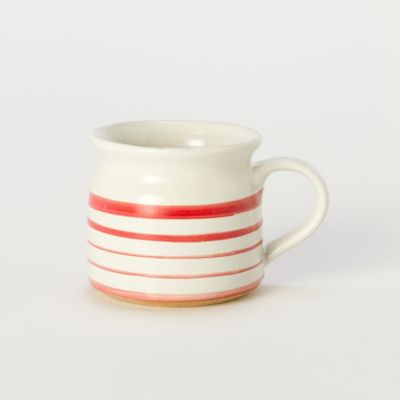 Mini Ceramic Mug, Stripe