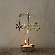 Snowflake Rotary Candleholder