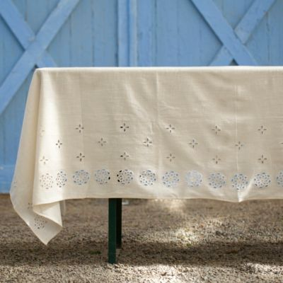 Eyelet Tablecloth