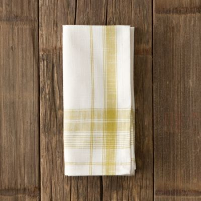 Yarn Dyed Plaid Napkin