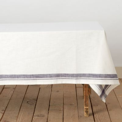 Yarn Dyed Plaid Tablecloth