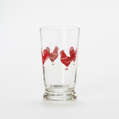 Rooster Juice Glass