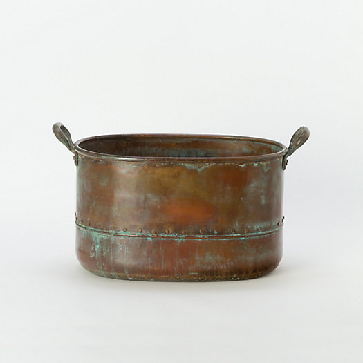 Riveted Copper Tub