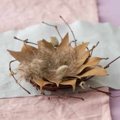 Leaf & Feather Nest