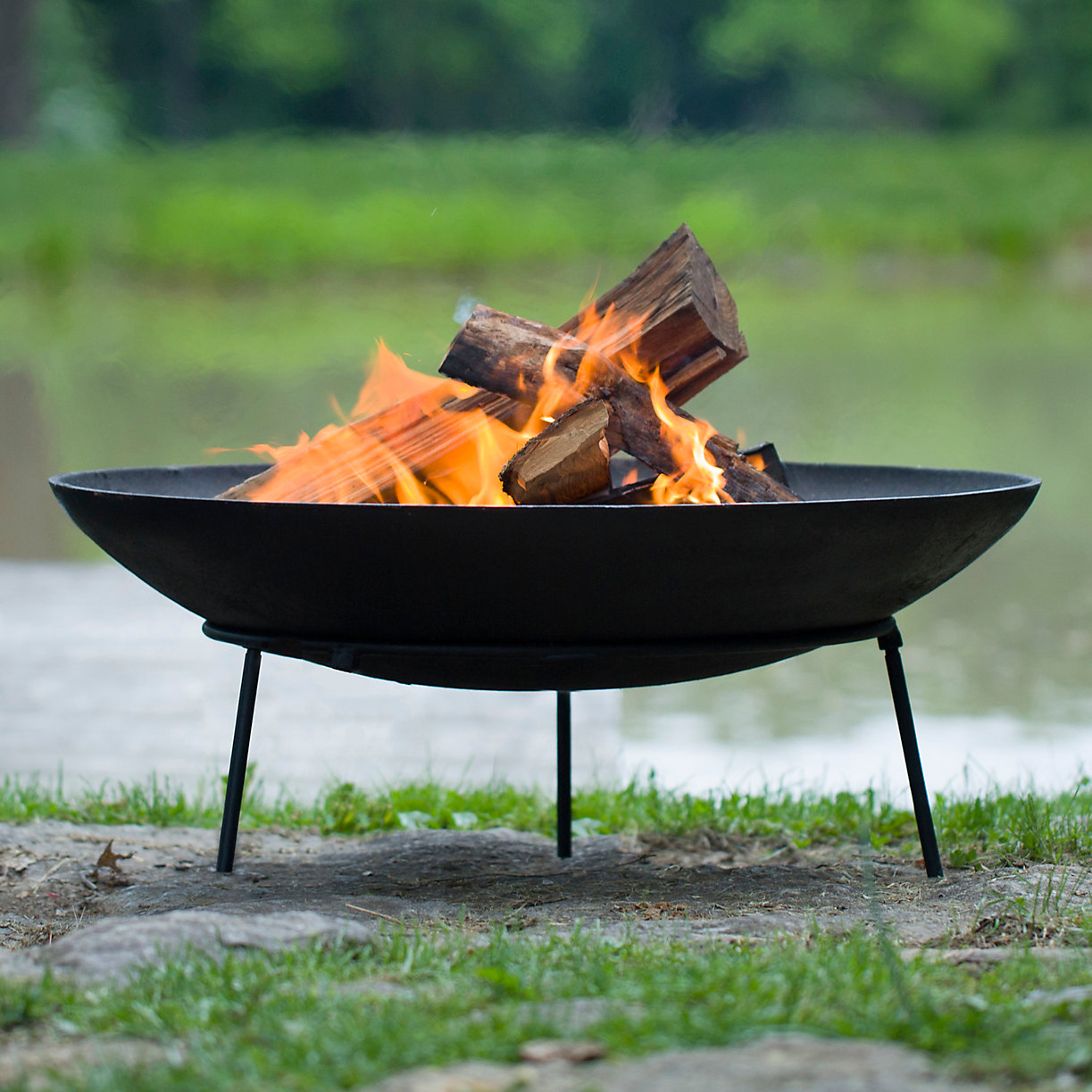 Dish Storage Ideas Cast Iron Fire Pit Terrain