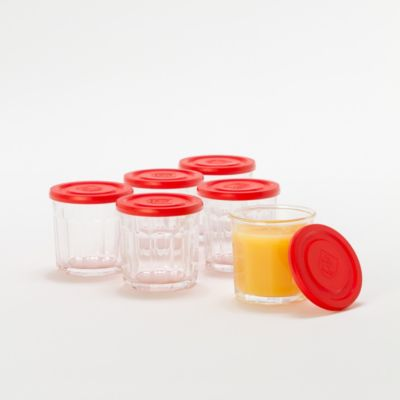Lidded Glass Set
