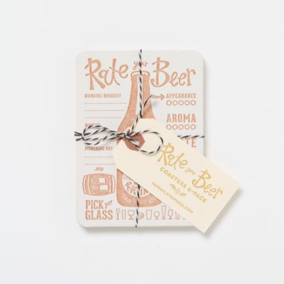 Party Notes Coaster Set
