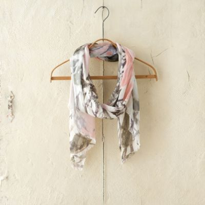 Watercolor Garden Scarf