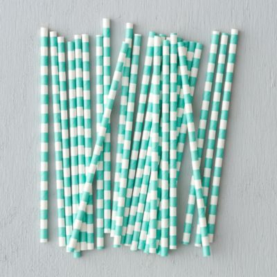 Wide Stripe Straws