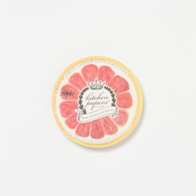 Fresh Slice Paper Coasters