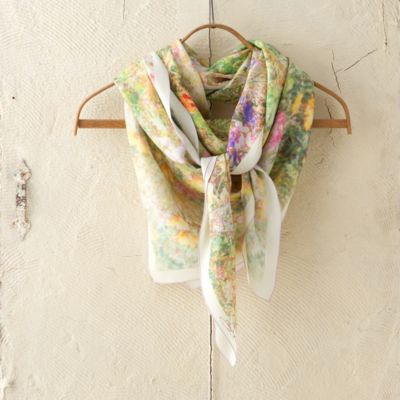 Silk Square Scarf, Wildflower