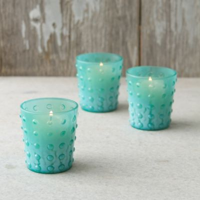 Milk Glass Votives