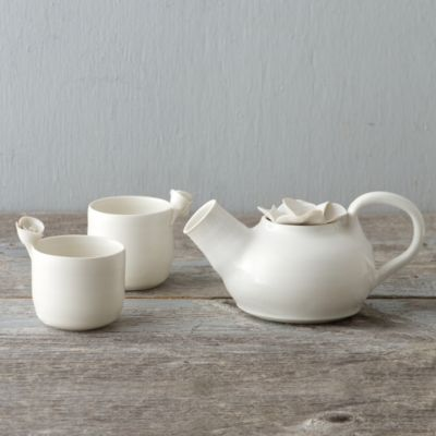 Porcelain Garden Tea Set