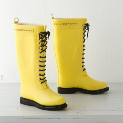 Ilse Jacobsen Laced Rain Boot, Tall