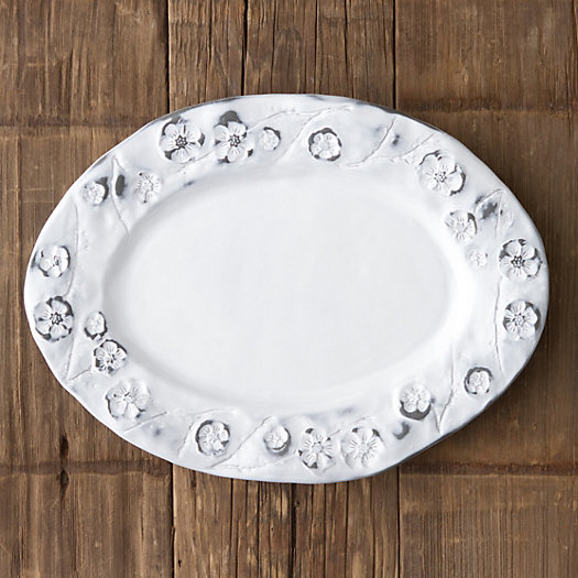 Pressed Flower Serving Tray