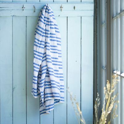 Wide Stripe Beach Throw