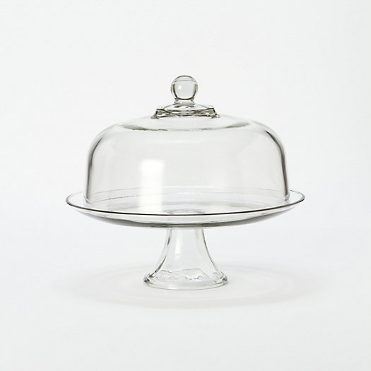 Covered Pedestal Cake Stand