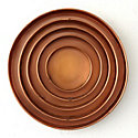 Habit & Form Circle Tray, Copper