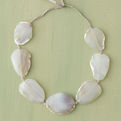 Agate Medallion Necklace