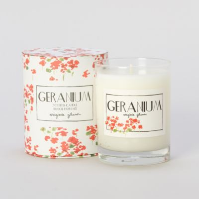 Virginia Johnson Candle, Geranium