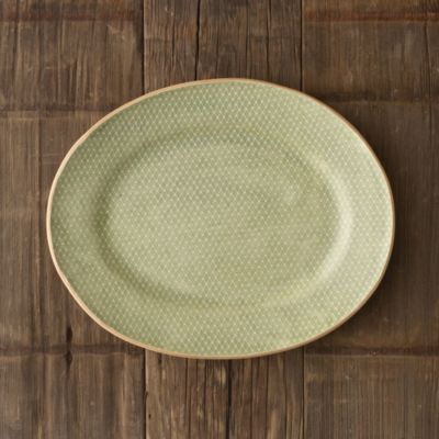 Diamond Dot Textile Platter