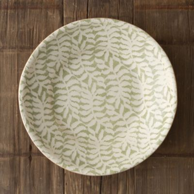 Fern Textile Serving Bowl