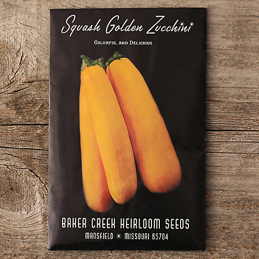 Golden Zucchini Seeds