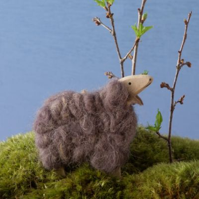 Wooly Sheep Easter Ornament