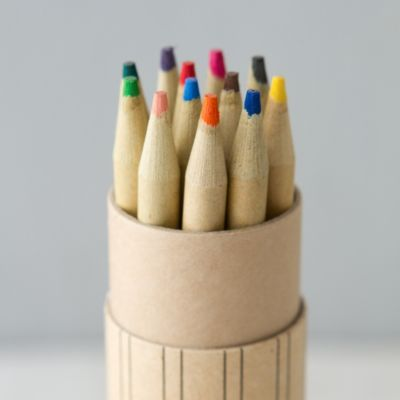 Colored Pencil Cylinder Set