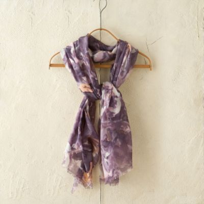 Watercolor Cashmere Scarf