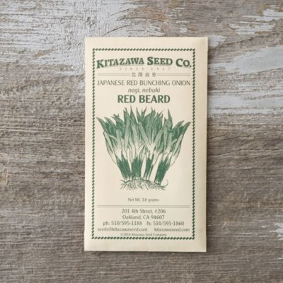Red Beard Onion Seeds