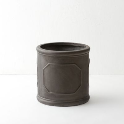 Placard Fiberclay Cylinder Pot